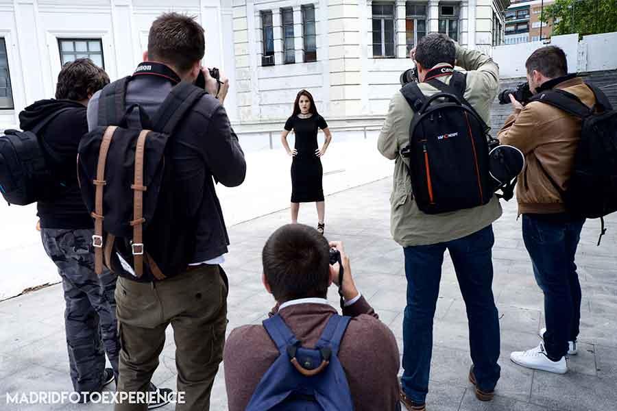 Curso fotografía iluminación estudio y exterior Madrid