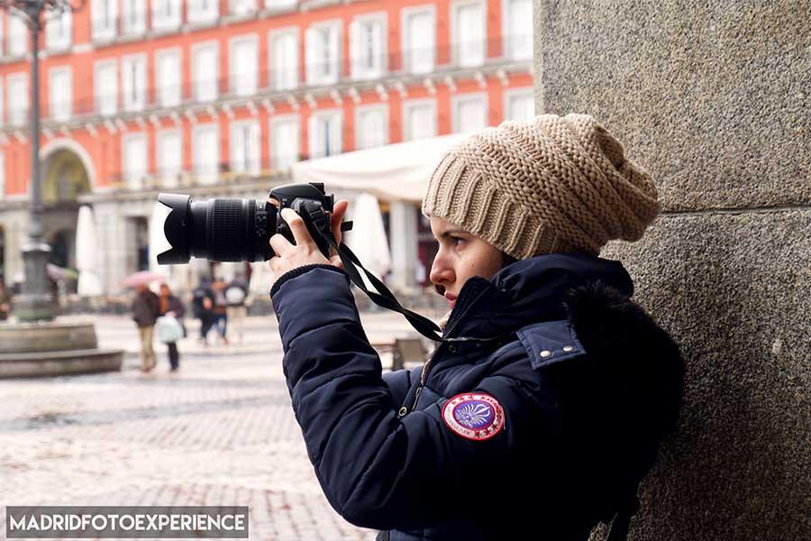 Curso fotografía particular en Madrid